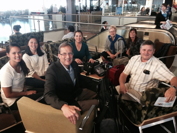 Team at SeaTac Airport