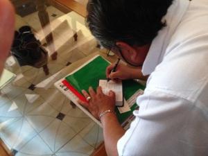 Mariano Mayor Signing PWT