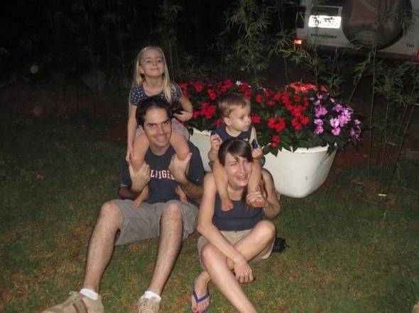 Andy, Carmen & Family
