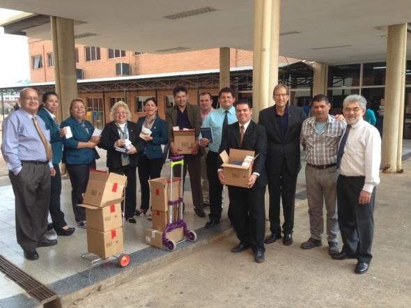 San Lorenzo Hospital Distribution